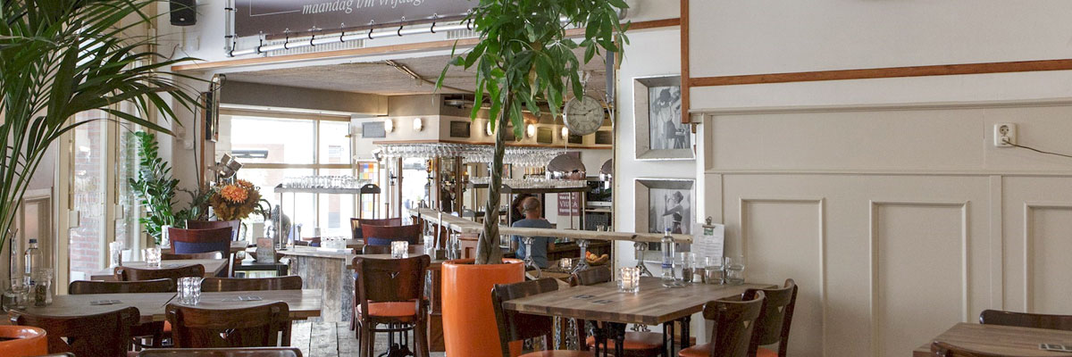 train2work lunch bij Grand Café Hof der Muzen